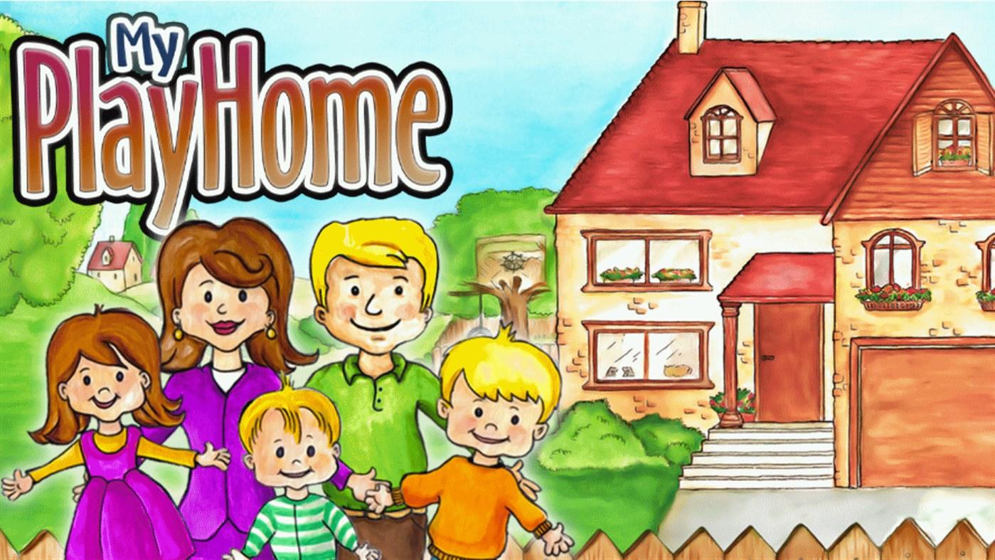 لعبة ماي بلاي هوم البيت للكمبيوتر