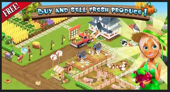 لعبة المزرعة السعيدة للكمبيوتر 2020