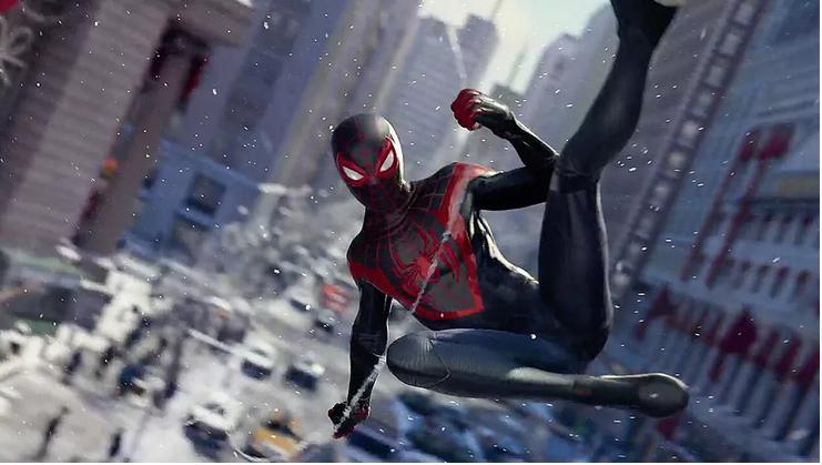 تحميل لعبة مارفل سبايدر مان للبلاي ستيشن game marvel spider man ps5