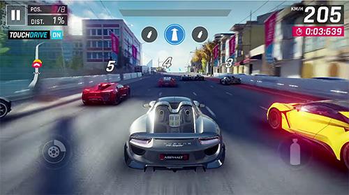 لعبة asphalt 9 للاندرويد