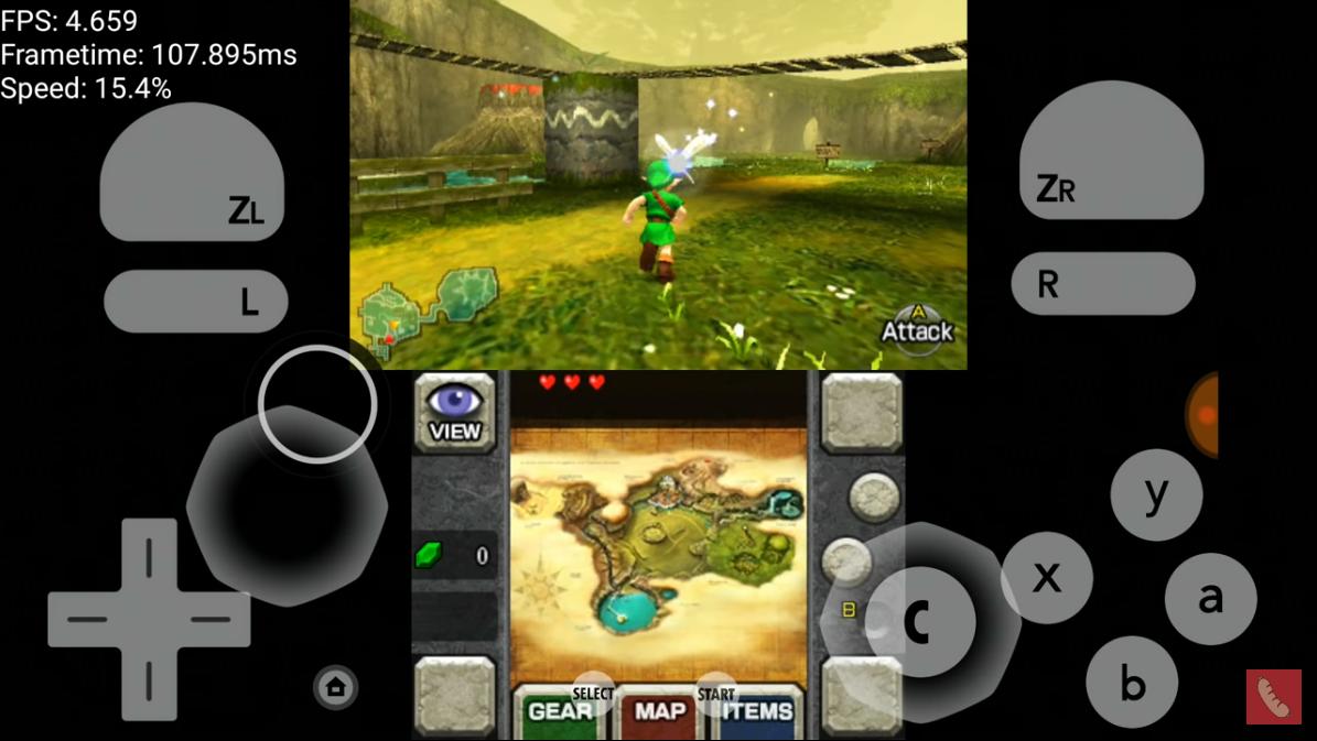 ألعاب 3ds للاندرويد