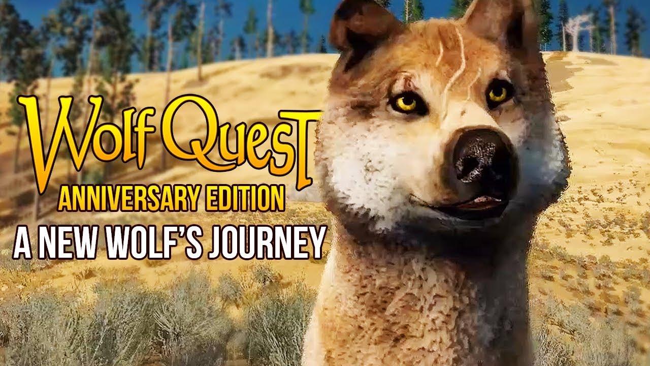 لعبة حياة الذئاب Wolf Quest 3 للكمبيوتر