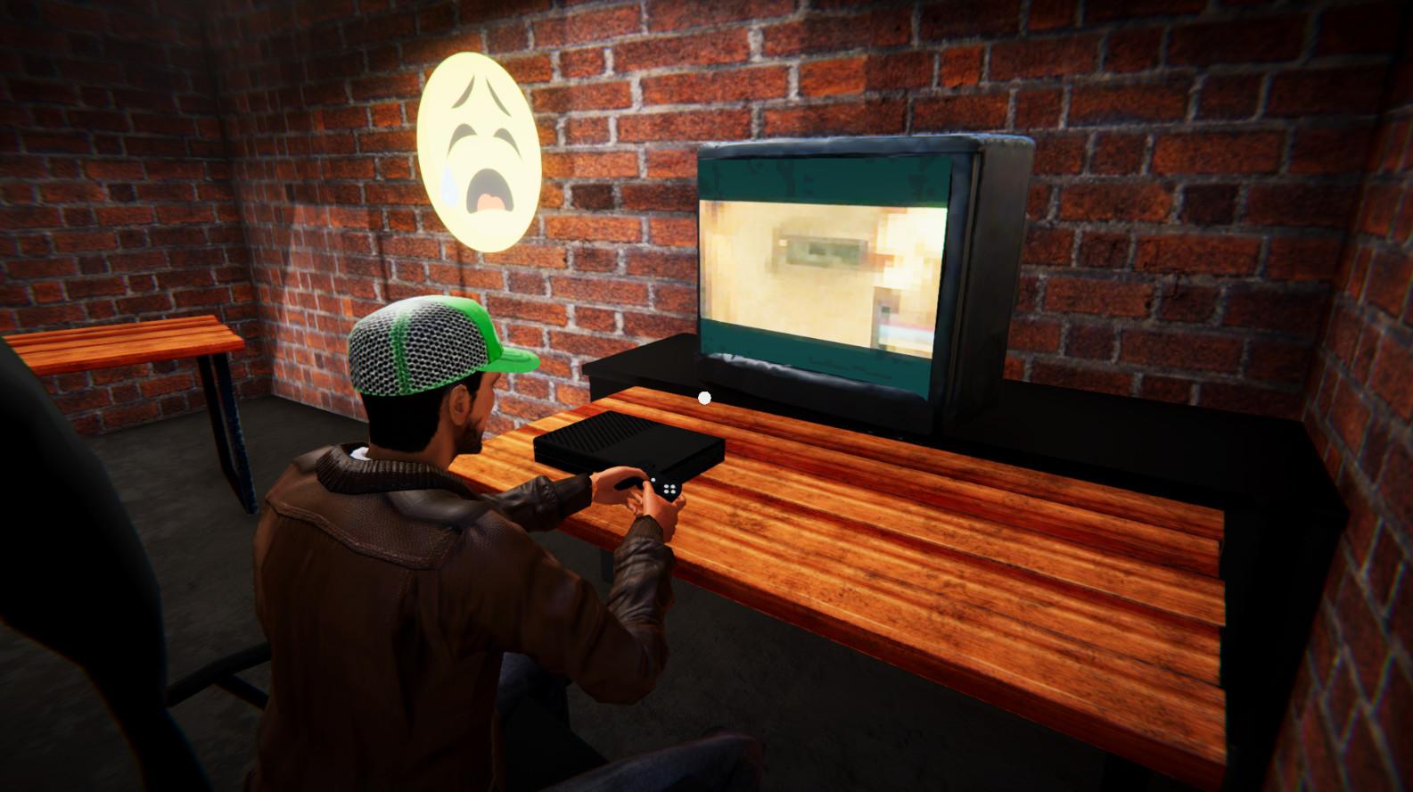 لعبة مقهى الالعاب للكمبيوتر